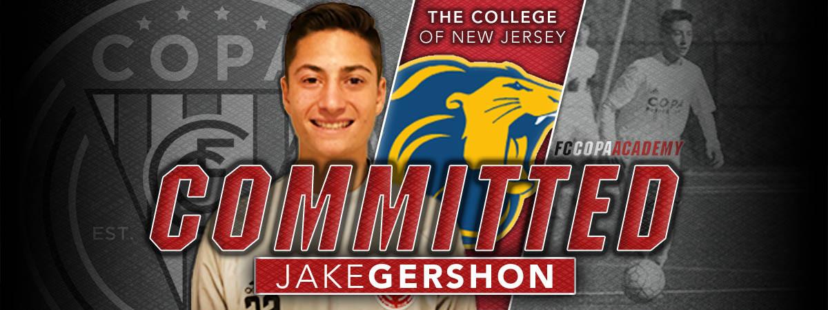 Jake Gershon Commitment