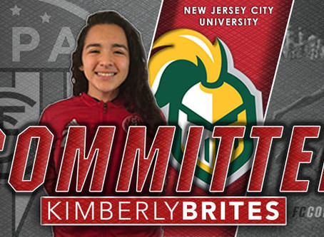 KIMBERLY BRITES, CLASS OF 2020, COMMITS TO NJCU!