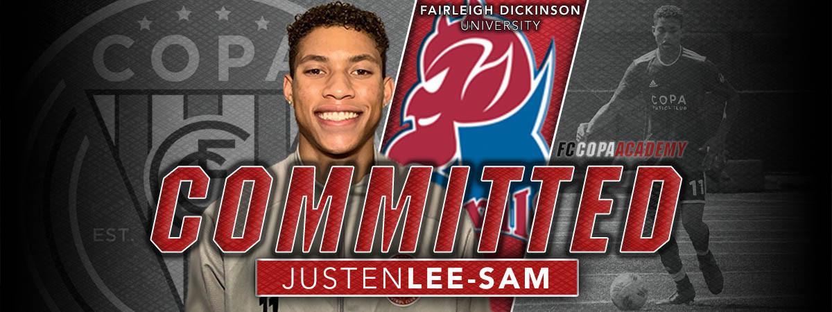 Justen Lee-Sam Commitment