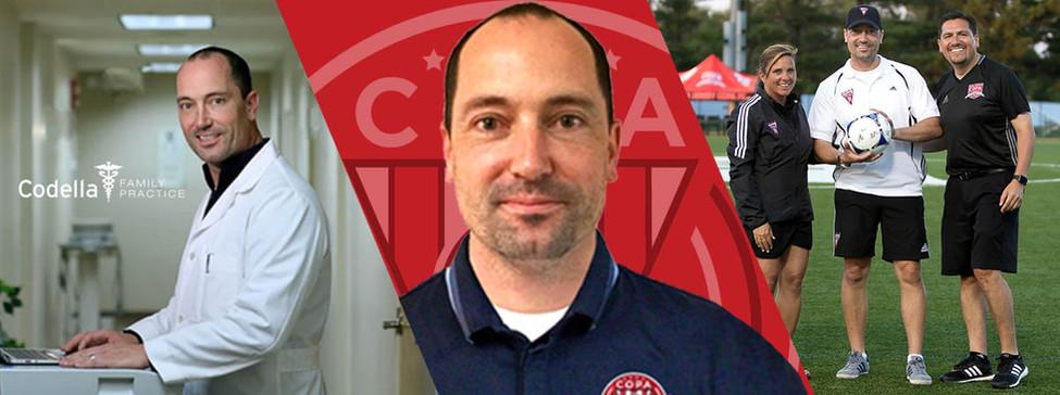 Dr Vincent Codella FC Copa Academy Doctor