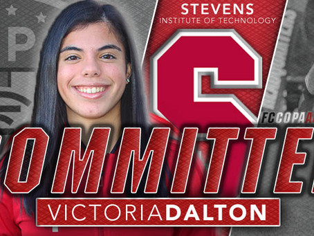 VICTORIA DALTON, CLASS OF 2021, COMMITS TO STEVENS!