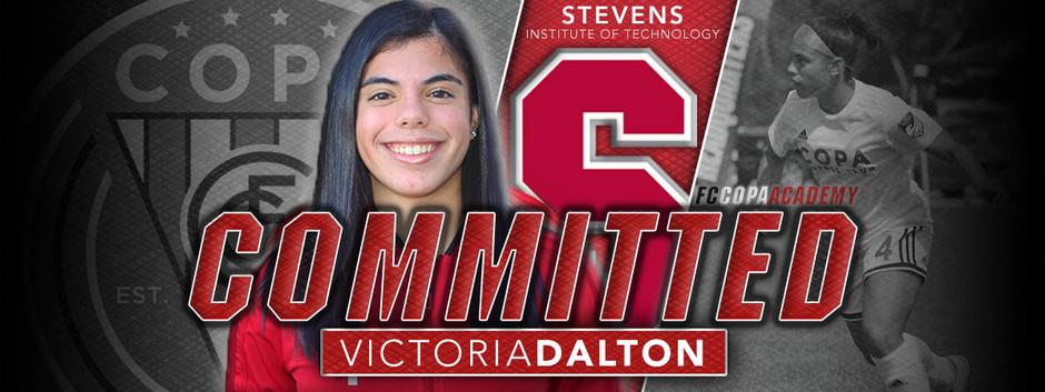 VICTORIA DALTON, CLASS OF 2021, COMMITS TO STEVENS!