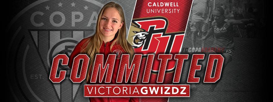 VICTORIA GWIZDZ, CLASS OF 2020, COMMITS TO CALDWELL UNIVERSITY!
