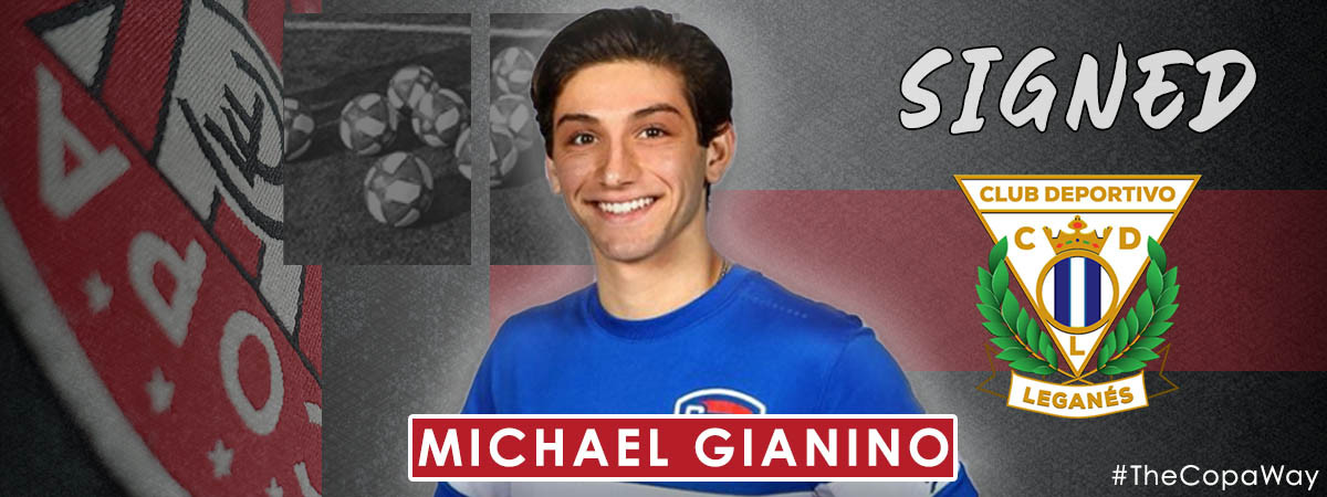 FC COPA ACADEMY ALUMNI, MICHAEL GIANINO, SIGNS FOR CD LEGANES!