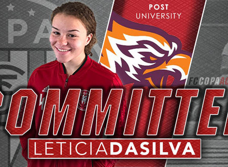 LETICIA DASILVA, CLASS OF 2020, COMMITS TO POST UNIVERSITY!