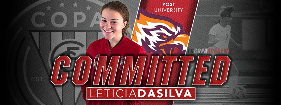 LETICIA DASILVA, CLASS OF 2020, COMMITS TO POST UNIVERSITY!