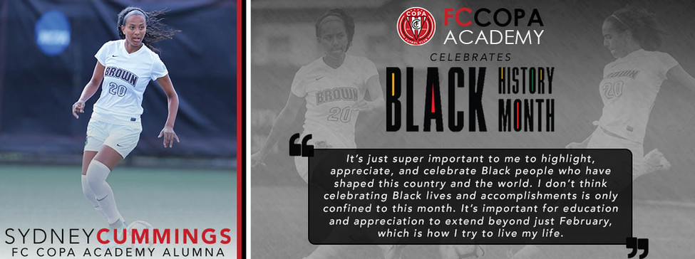 Sydney Cummings Black History Month