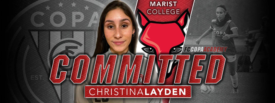 CHRISTINA LAYDEN, CLASS OF 2021, COMMITS TO MARIST COLLEGE!