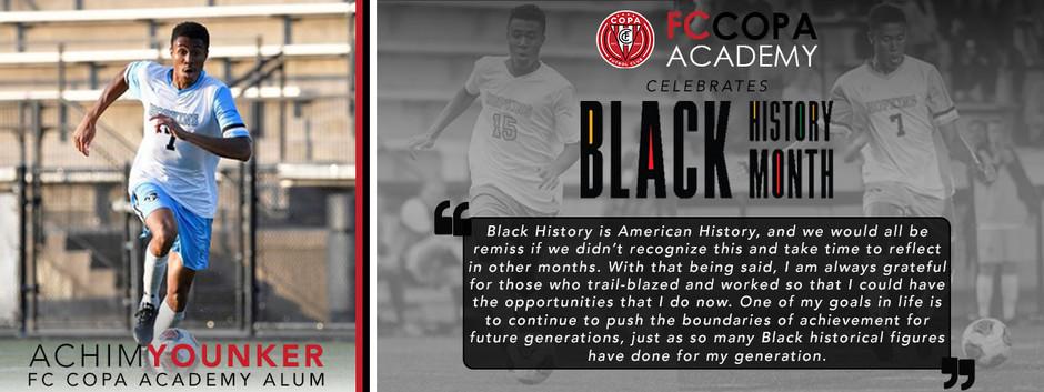FC Copa Academy Celebrates Black History Month: Achim Younker