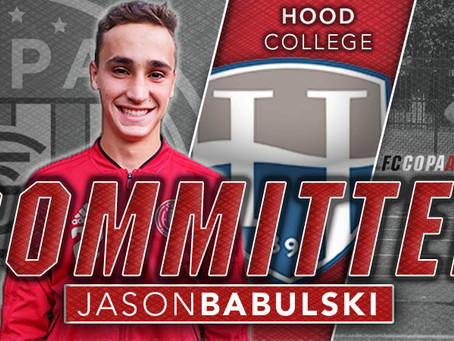 JASON BABULSKI, CLASS OF 2021, COMMITS TO HOOD COLLEGE!