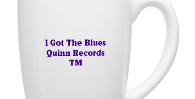 12-Ounce QRTM Signature Mug & CD I Got The Blues by Kevin Wheeler