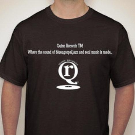 Quinn Records TM Signature T-Shirt 100% Cotton