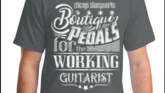 Boutique Pedals t-shirt