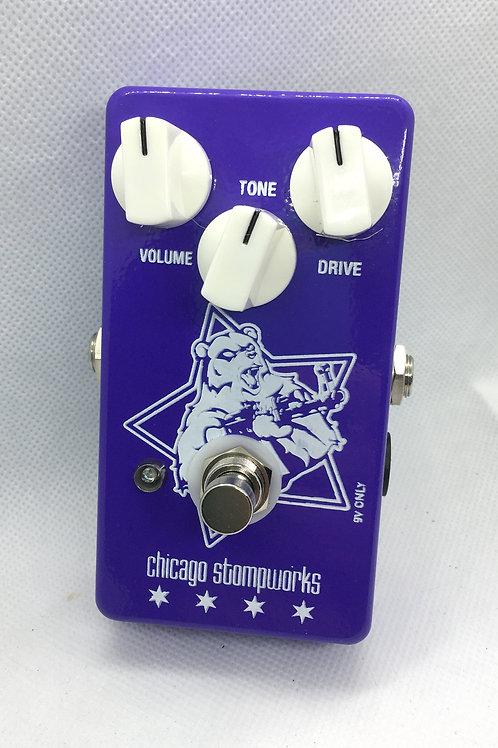 PURPLE BEAR Violet Big Muff Clone Pedal
