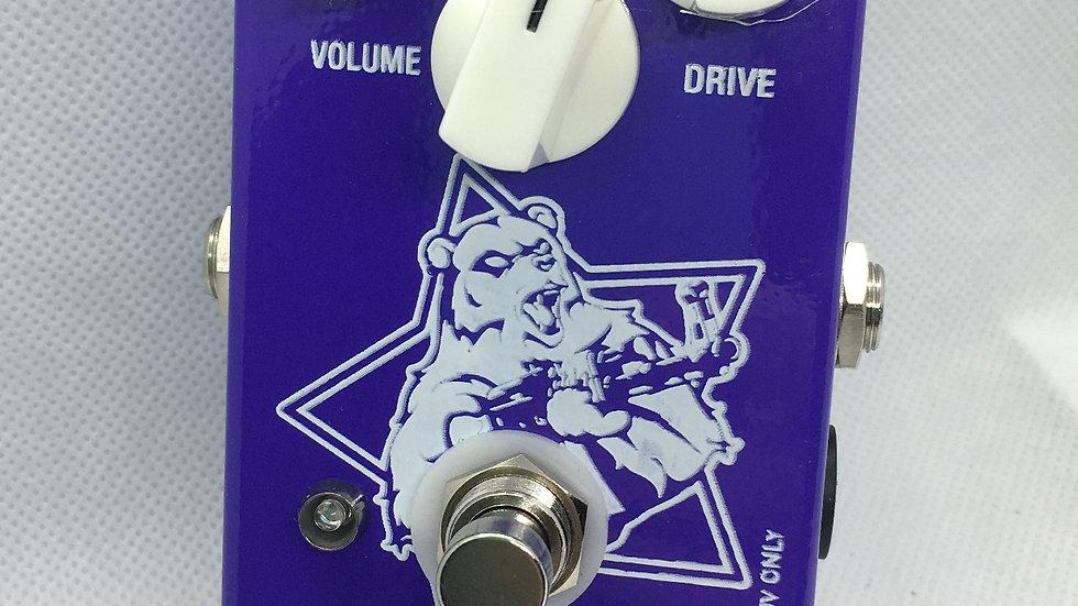 PURPLE BEAR Violet Big Muff Clone Pedal