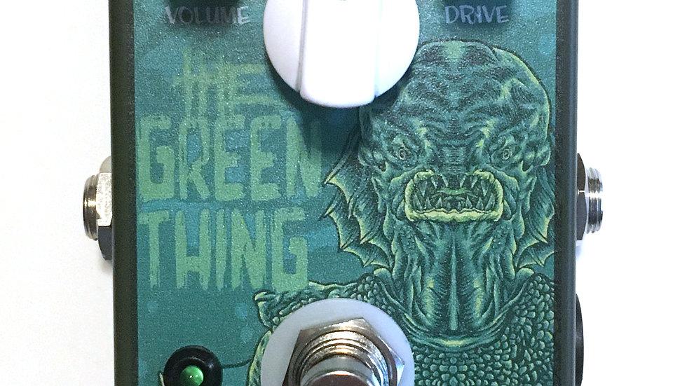 The Green Thing: Tubescreamer TS808 Clone pedal