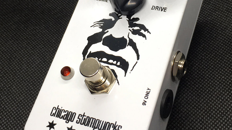 """THE PAINED GUY -  """"680 White Can"""" Big Muff clone"""