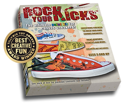 Handpaint and Customize Your Sneakers With Rock Your Kicks DIY Paint Kit