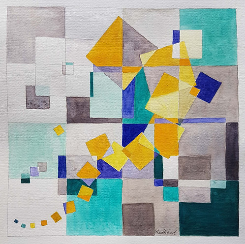 Yellow in Motion - Helen Redhead Mayer