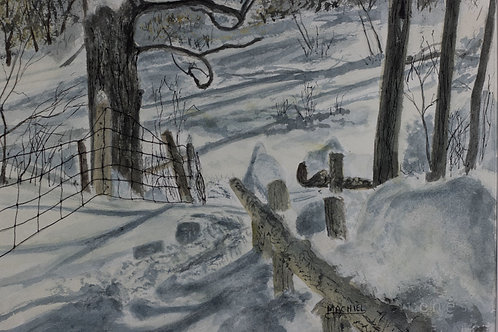 Rouge Valley Snow - Machiel Scholte