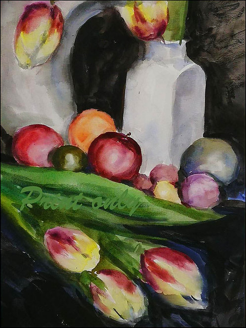 Fruit and Flowers - Adam Zhao