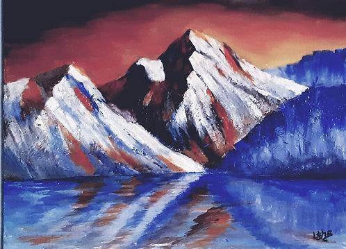 Icy Mountains - Usha Kumar