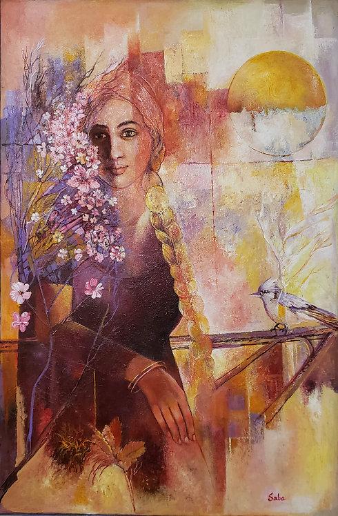 Evening Blossom - Saba Kalim