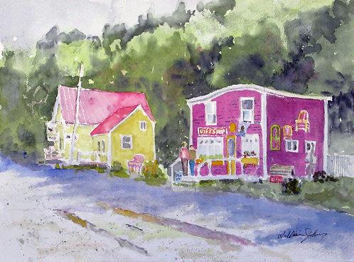 The Gift Shop at Saint Martins, N.B. - William Johns