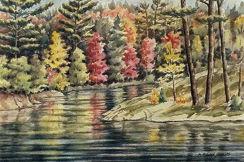 Along the River Road - Margaret Jamieson