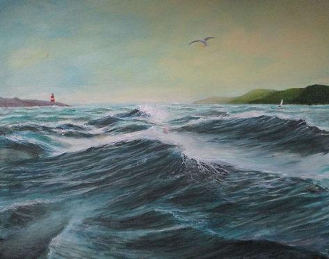 Rough Sea - Gary Faulkner