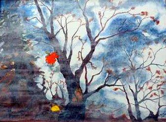 Autumn Reflections= Toronto Park - Wayne Lacey