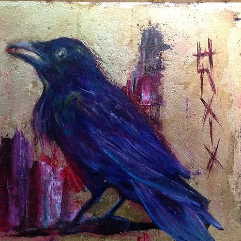 The Raven  Hugin - Sylvia Le Roy
