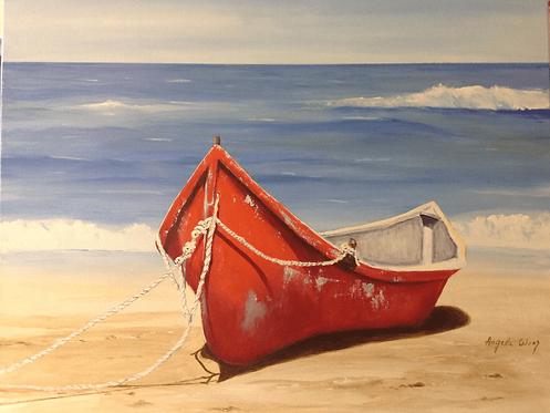 Lonely boat - Angela Wong