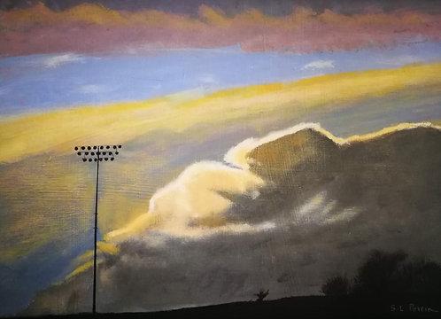 Sky over Lamport - Sonia Perrin