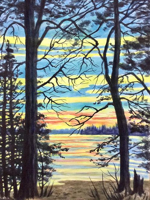 Muskoka Sunset - Margaret Jamieson