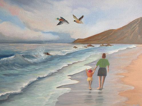 On the Seashore - Sheila Thadani
