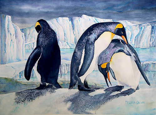 Waltz of the Penguins - Melinda Calway