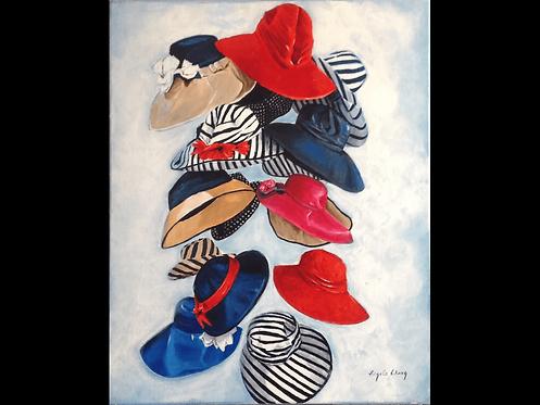 Floating Hats - Angela Wong