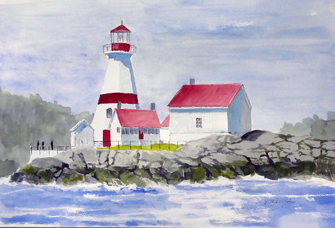 Campobello Is. Lighthouse, N.B.  - William Johns