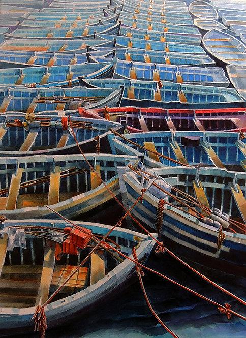Boats Essaouira - Ted Martin