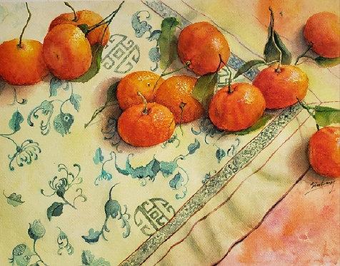 Lucky Mandarins - Sim Wong