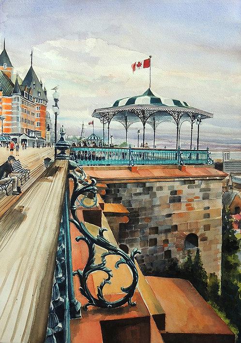 Dufferin Terrace Quebec - Ted Martin