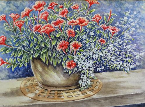 Flowers on the Deck - Margaret Jamieson