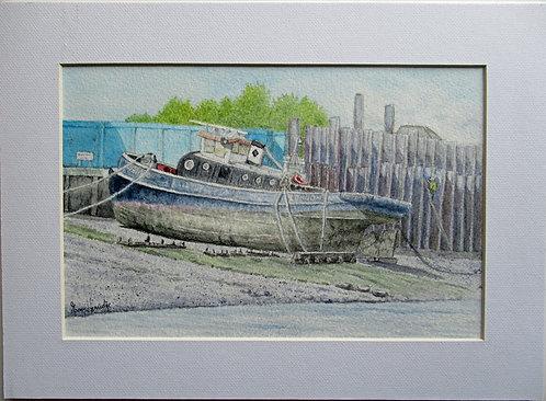 High and Dry on the Thames - Garry Herridge