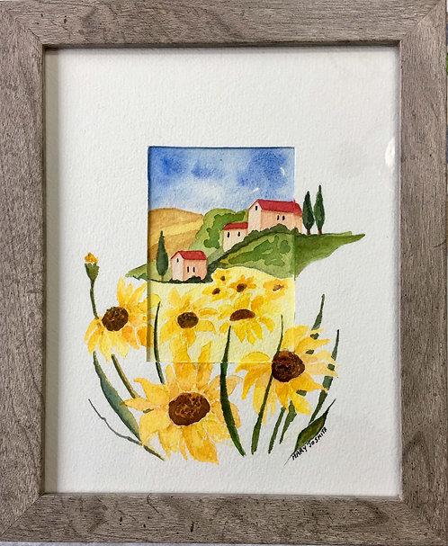 Sunflowers in Tuscany - Mary Jo Smith