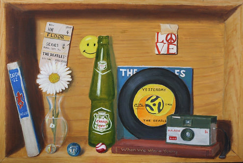 Ode to the 60s - Gary Faulkner
