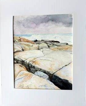 Incoming Waves (Peggy's Cove) - Wayne Lacey