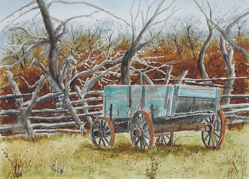 Weathered Wagon - Machiel Scholte