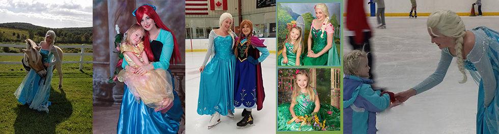 Anna Elsa Ice skating Albany NY