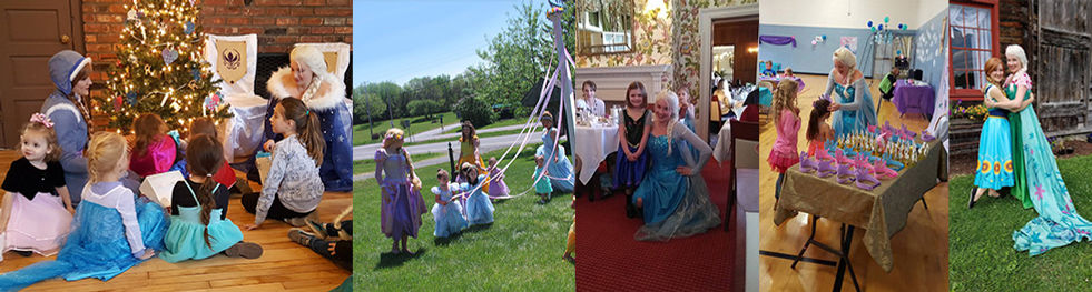 Anna Elsa Rapunzel Princess Events in Latham, Cooperstown and Oneonta NY